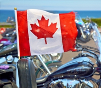 Ship A Motorcycle To Canada